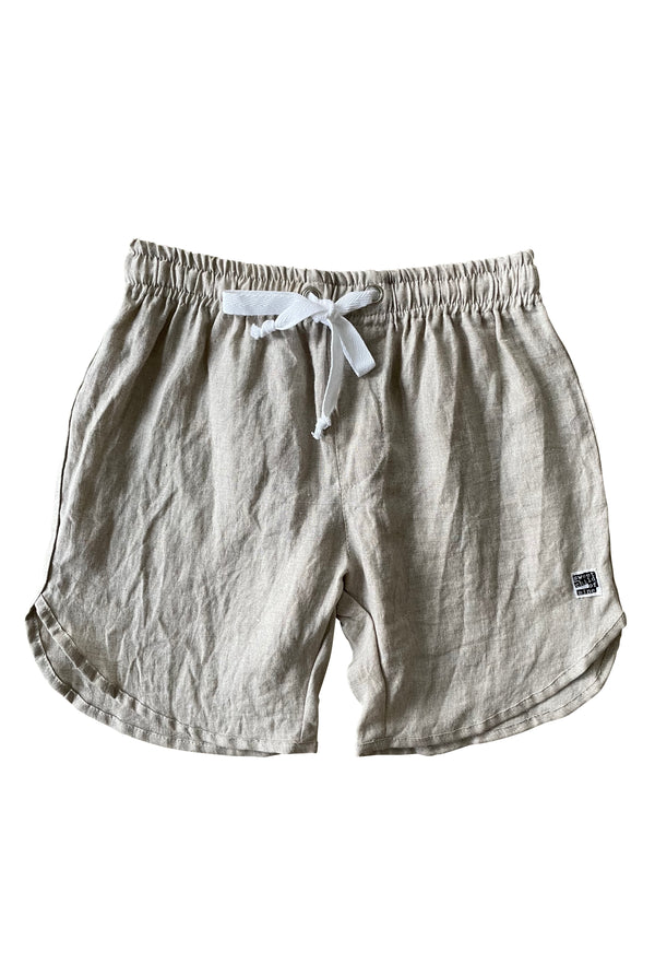 Thommo Walkshorts - Linen Sand