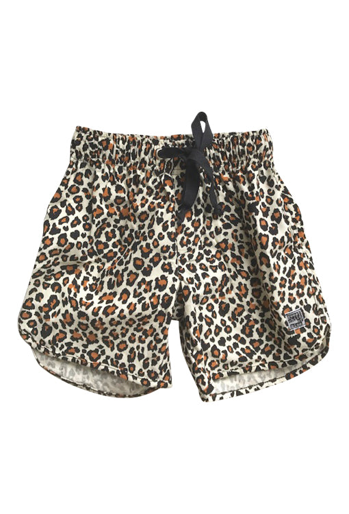 Thommo Walkshorts - Cord Leopard