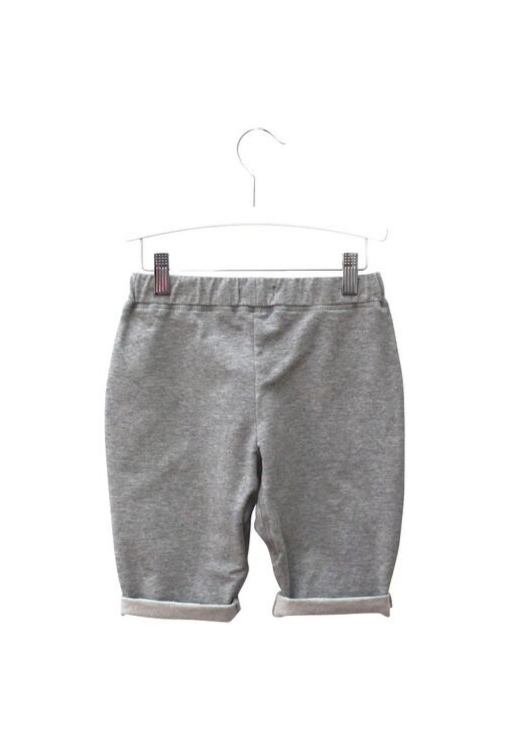 Lounge Trackie Shorts - Grey Marle