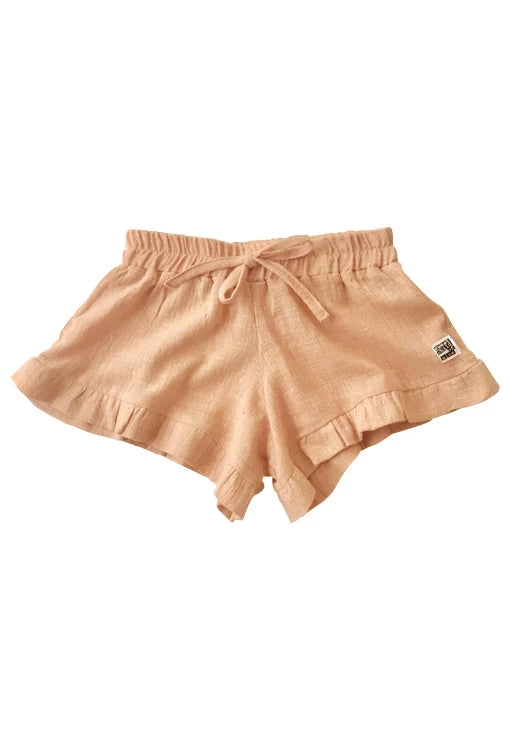 Bella Shorts - Textured Rosé