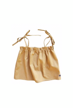 Bonnie Top - Linen Old Gold