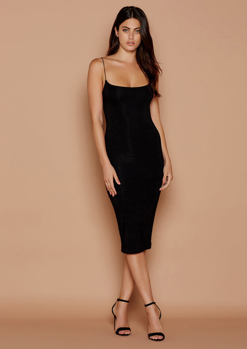 BASIC BAE MIDI DRESS