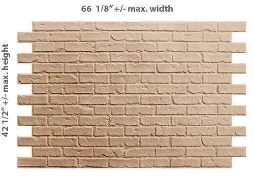 PAS010 - Recycled Common Brick (Printable)