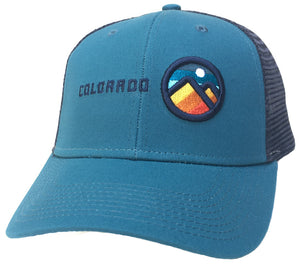 Colorado Mountains Trucker Hat Baseball Cap