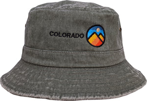 Colorado Mountains Bucker Hat