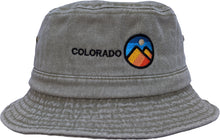 Load image into Gallery viewer, Colorado Mountains Bucker Hat