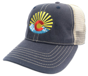 Colorado Flag Riff Baseball Cap