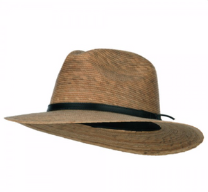 Men's Palm Leaf Fedora