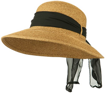 Load image into Gallery viewer, Packable Women's Sun Hat