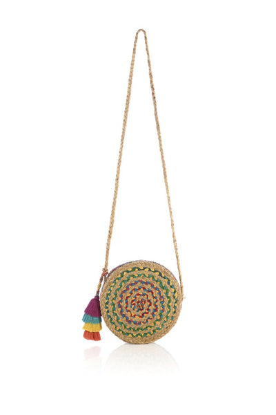 Mirabel Small Round Crossbody