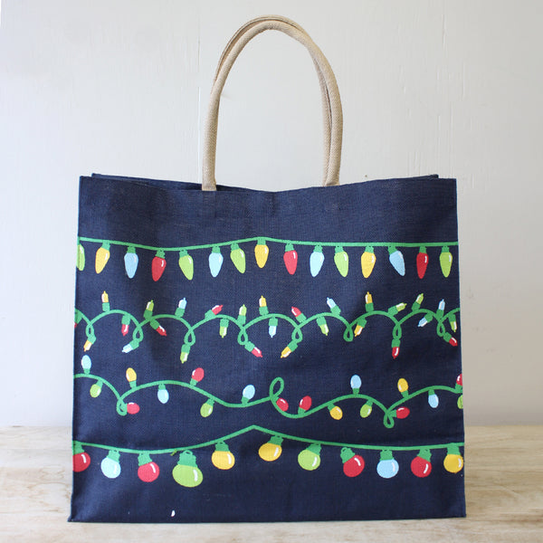 Light It Up Carryall Tote Navy Brights