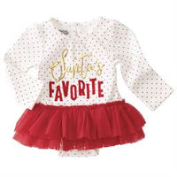Santas Favorite Skirted Crawler 9-12 months