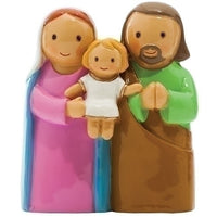 "3.25""H Holy Family Figurine"