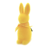 Flocked Button Nose Bunny Large