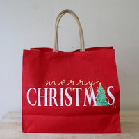 Merry Christmas Carryall Tote