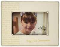 My First Communion Horizontal Frame