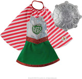 Claus Couture Scout Elf Superhero Girl