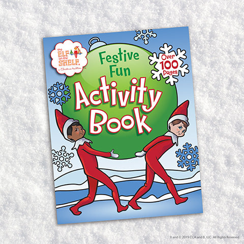 Festive Fun Activity Book