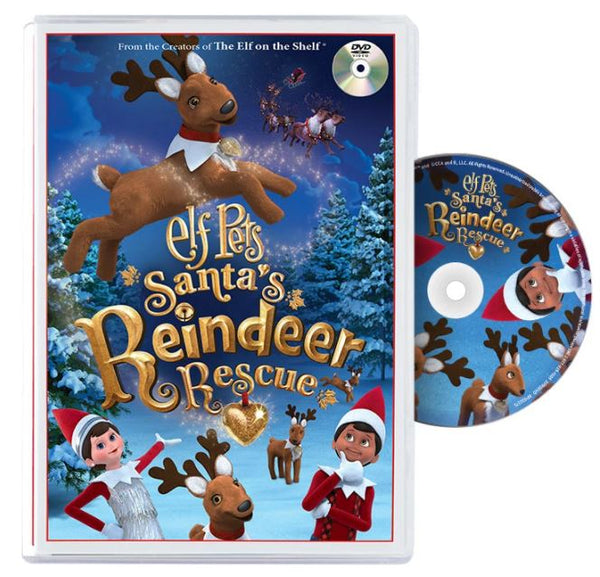 DVD Elf Pets Reindeer Rescue