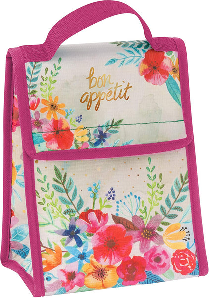 Floral Lunch Sack