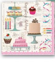 Birthday Luncheon Napkins pack