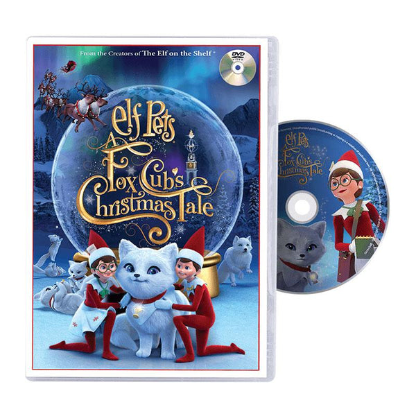 Elf Pets A Fox Cub's Christmas Tale DVD