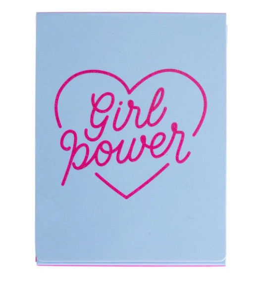 Girl Power pocket note