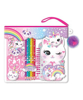 Caticorn Color-Me Notebook Set