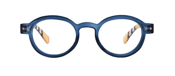 Style Sixteen Blue Reading Glasses