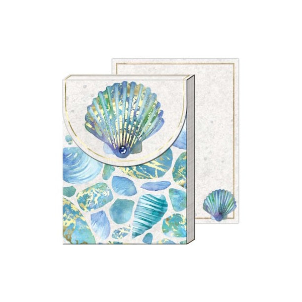 Pocket notepad sea glass