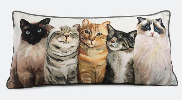 Cat Bunch Pillow
