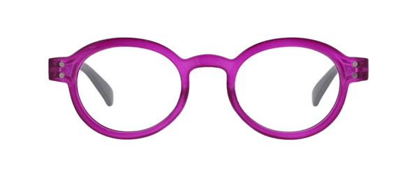 Book It! Berry Gray Reading Glasses