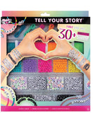 Tell Your Story Alphabet Bead Case
