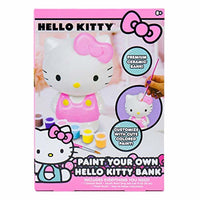 Paint Your Own Hello Kitty Bank