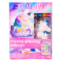 YOU*niverse 3D Crystal Growing Unicorn, D.I.Y. Crystal Sculpture, 6+
