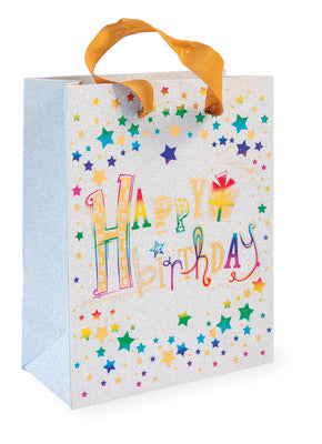 New!  HAPPY BIRTHDAY MEDIUM STAR BAG