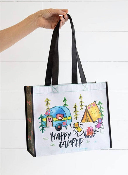 Happy Camper Recycled Gift Bag
