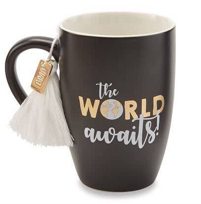 Black Graduation Tassel Mug