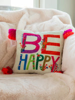 Be Happy Pillow