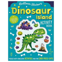 Balloon Stickers: Dinosaur Island