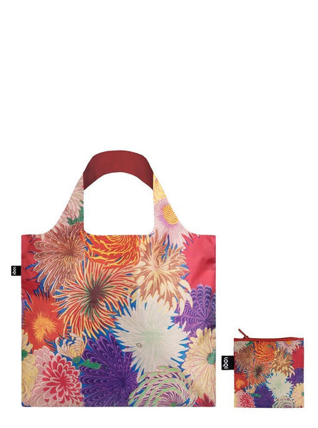 Japanese Chrysanthemum Reusable Bag