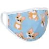 Corgi Reversible Face Mask