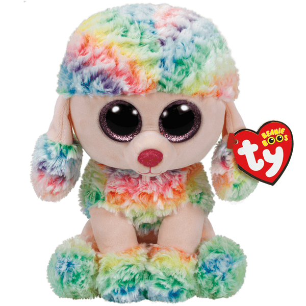 Rainbow Multicolor Poodle Medium