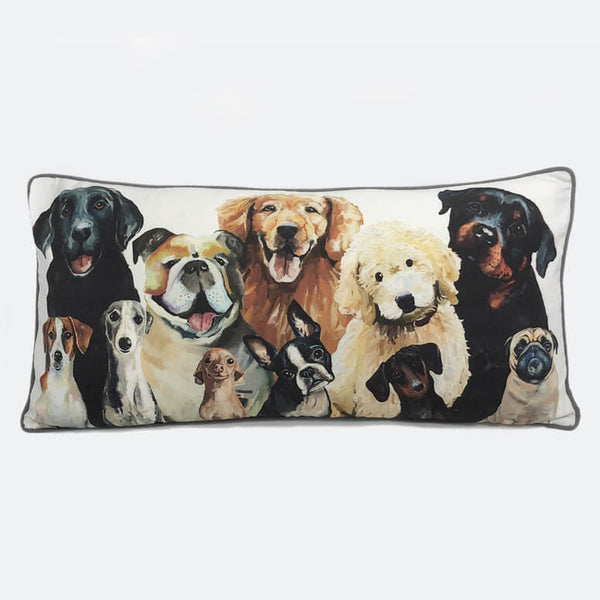 Best Friend - Dog Bunch Pillow