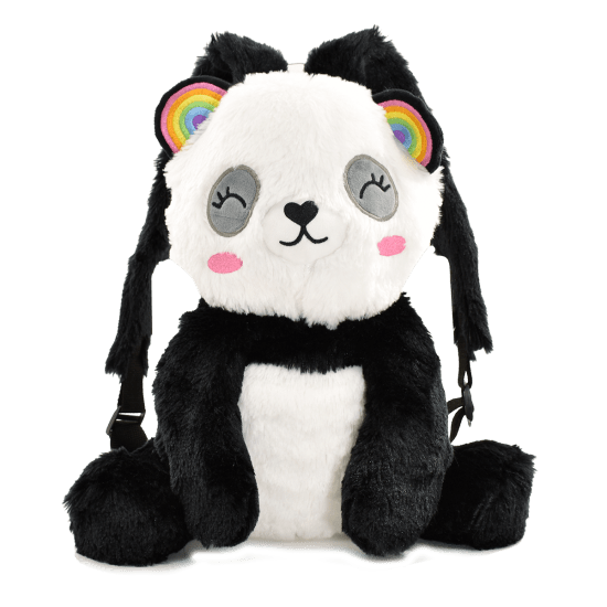 Panda Furry Backpack