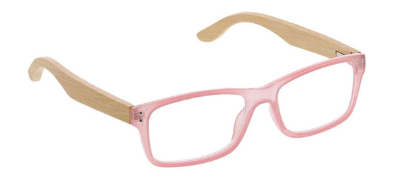 Al Fresco Pink/Wood Reading Glasses