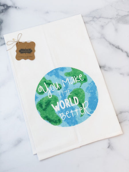 GLOBE TEACHER TOWEL