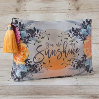 Large Accessory Pouch — You are My Sunshine