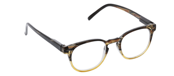 Dynomite Tan/Brown Reading Glasses w/Blue Light