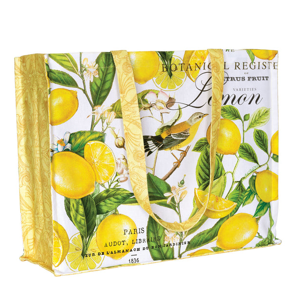 Lemon Basil Tote Bag